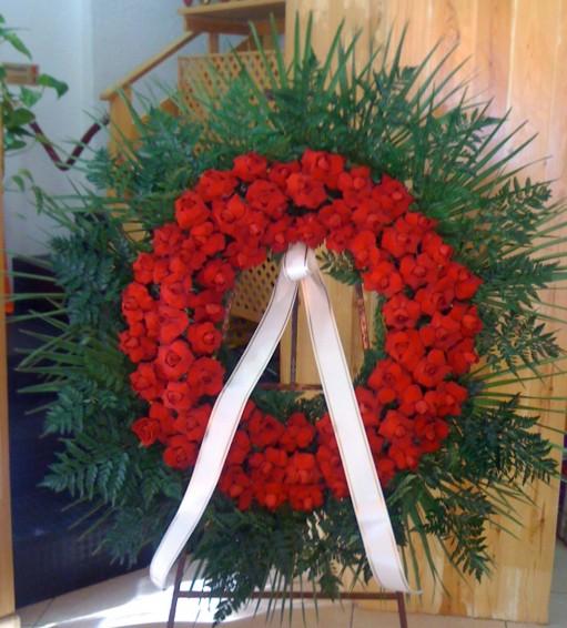 Cojin de flor variada flores tanatorio barcelona f 920 - Tanatorio sant gervasi ...